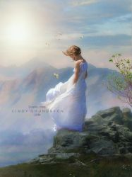 Lonely in the wind by CindysArt
