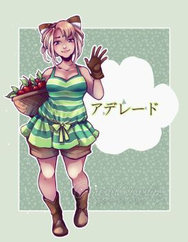 Animal Crossing - Gijinka: Melba/Kornelia by Cowslip
