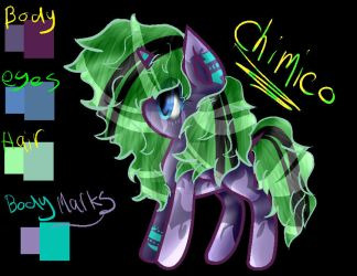 My New Oc ~ Chimico by ShadeBliss666