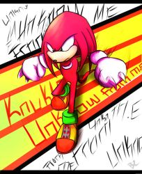 Classic Knuckles Unknown from M.E by Omiza-Zu