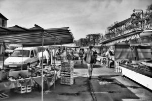 Bayeux - the market by UdoChristmann