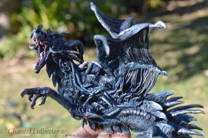 Dragon Sculpture- Nightmare 0.3 by HiddenTreasury