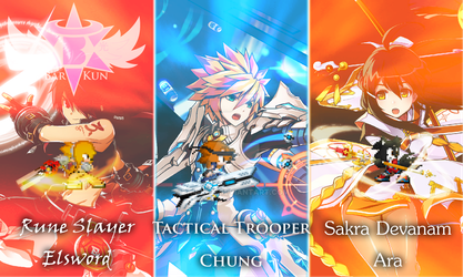 Elsword Weapons - RS, TT and SD by Bar-Kun