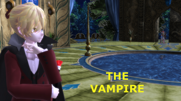 MMD thingy - The Vampire by MadNimrod