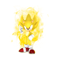 Super Sonic Random Render by JaysonJeanChannel