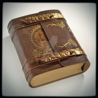 The Draconian leather journal (6.5 x 5.5 in) by alexlibris999