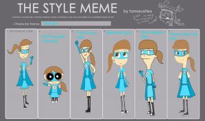 Style Meme: Toongirl by Toongirl18