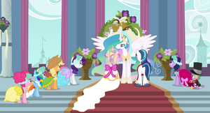 A Canterlot Wedding by 90Sigma