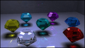 The Seven Chaos Emeralds by MattInc
