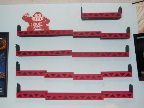 Donkey Kong Shelves 1 by devastator006