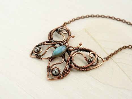 Butterfly Hyles by UrsulaJewelry