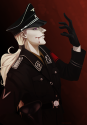 Maxwell in SS uniform by Taneysha