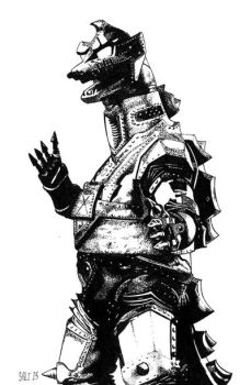 Mechagodzilla by MisterSali
