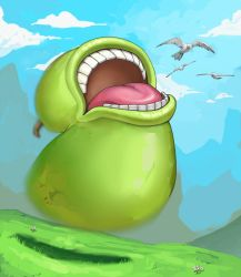 Leaping Pear by Metalbolic