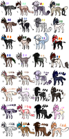 MEGA batch of adopts -20/32 OPEN!! by Doodle-Designs