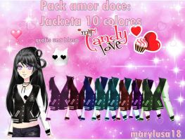 PACK AMOR DOCE- Jacketas 10 cores by Marylusa18