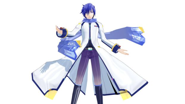 Kaito V3 model download MMD by Reon046