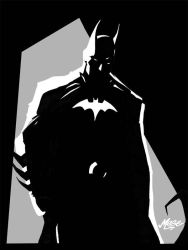 Batman Silhouette by mase0ne