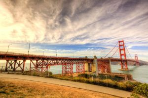 Golden Gate Bridge by TonyEP