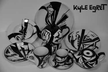 Porcelain Series 'Constellation ' by Kyle Egret by KyleEgret