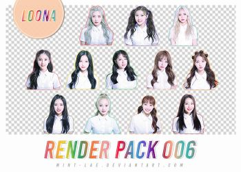 PACK RENDER 006 | LOONA's SPECIAL DEBUT PROJECT by mint-lae