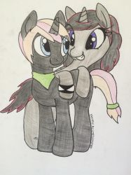 Altto and Maletic by MaleticAnimeWatcher