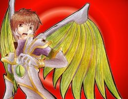 Dragoon Suzaku by MadeInHeavenFF15
