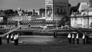 Bridges over the Liffey - Dublin ( 2 ) by UdoChristmann
