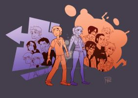 Scott Pilgrim Tribute by FaustindeRavignan