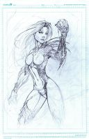 Witchblade W.I.P. by MetaWorks