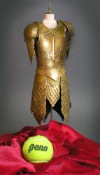 Game of Thrones armor with scale reference by my-immortals