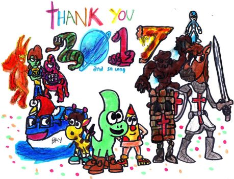 Thank You 2017 by SonicClone