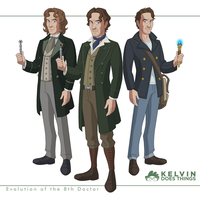 Doctor Who - Evolution of the 8th Doctor by kelvin8