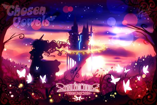 #182 Malediction sunset by ChosenVowels
