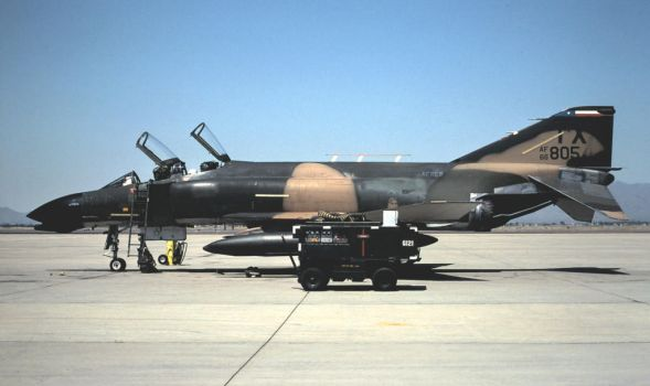 F-4D in 'Wraparound' No. 9 by F16CrewChief