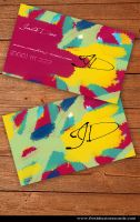 Art Business Card by Freshbusinesscards