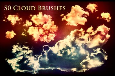 50 Cloud Brushes by XResch