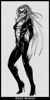 Black Cat Symbiote - FAIL by Edge-Works