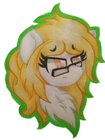 AT:  grump horse by WillowTails