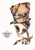 Tattoo design-Steampunk by DZIU09