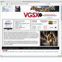 VGSX Product page by darlinginc