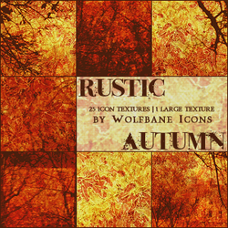 Rustic Autumn Texture Set by jordannamorgan