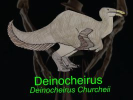 DINOWORLD: DEINOCHEIRUS by HUBLERDON