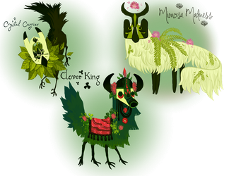 (Closed) Summer Beasties batch 1 by The-Monster-Shop