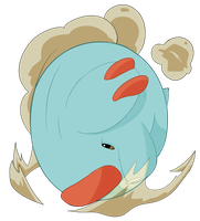 Phanpy used Rollout! by nabhalim