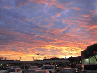 boring parking lot awesome sky by iLL-Lozenge