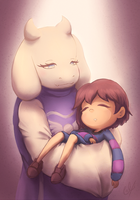 Toriel is love by Umishaii
