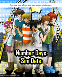 Number Days promo poster by Pacthesis