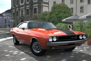 dodge challenger rt 4 by JoshuaCordova