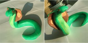 Clay snake by x----eLLiE----x
